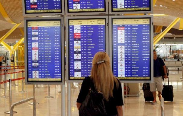 El segundo día de paro de los tripulantes de cabina afecta a 20.000 pasajeros