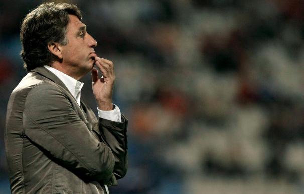 """El entrenador del Hércules afirma que, si les eliminan, """"que sea siendo valientes"""""""