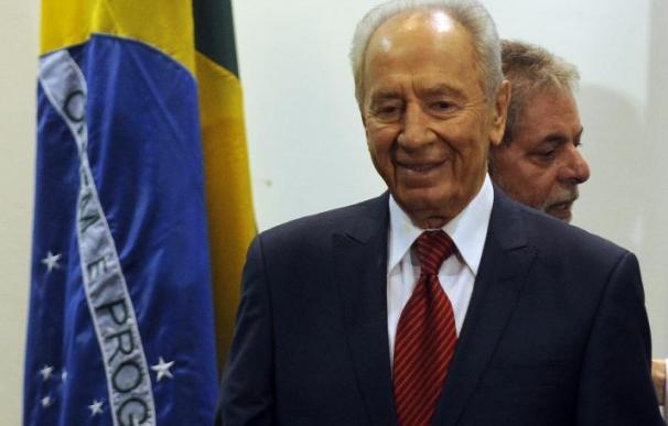 Peres agradece a Lula la contribución de Brasil al proceso de paz con los palestinos