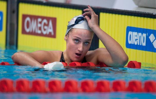 Los campeonatos de natación comienzan con un récord de España de Mireia Belmonte