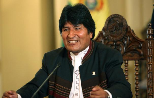 Evo Morales se reunirá hoy en La Paz con el presidente de Repsol YPF