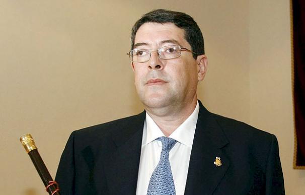 El actual alcalde de Polop, Juan Cano - EFE