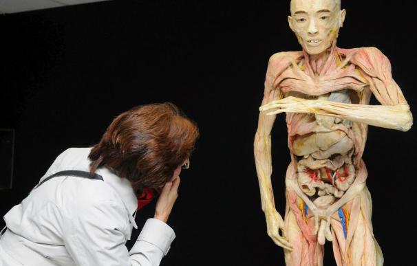 La exposición que muestra cadáveres reales abre sus puertas en Granada