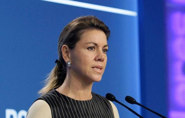 """Cospedal pregunta a la Junta si Caja Guadalajara """"va a desaparecer"""""""