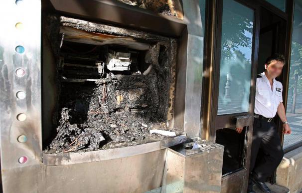 """Atacada con un artefacto incendiario una oficina de """"Diario de Navarra"""""""