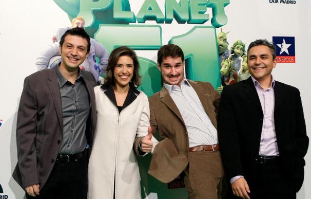 """""""Planet 51"""" recauda más de 40 millones de dólares en su primera semana"""
