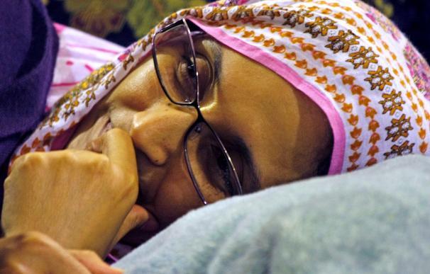 Haidar entra en la tercera semana de huelga a la espera de volver a El Aaiún