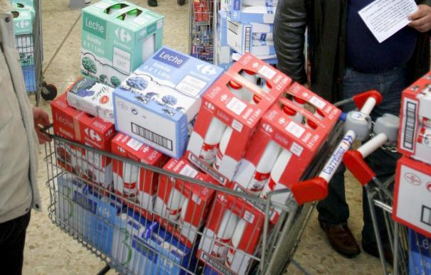 Las marcas distribuidoras suben los precios de los alimentos el 0,8 por ciento en el último trimestre