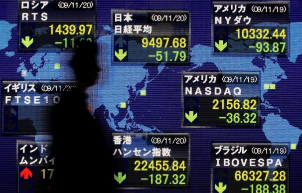 El índice Nikkei gana 25,15 puntos,el 0,26 por ciento, hasta 9.426,73 puntos