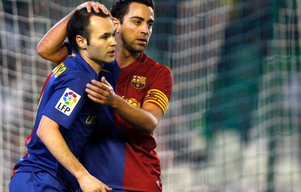 Xavi e Iniesta, los jugadores únicos