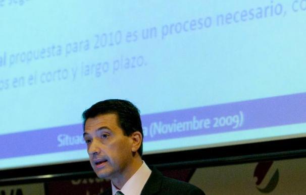 La zona euro crecerá un 0,2 por ciento en 2010, según el BBVA, que ve riesgos de recaída
