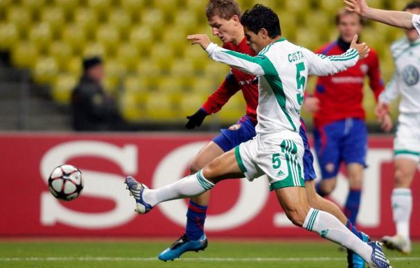 2-1. El CSKA sorprende al Wolfsburgo y le caza en la lucha por los octavos de final