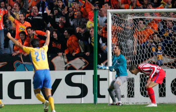 1-1. Un empate ante el APOEL acerca a un gris Atlético a la Liga Europa