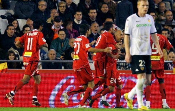 1-1. El Valencia recibió poco premio ante un compacto Mallorca