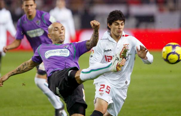 2-2. Al Málaga se le fue la victoria y al Sevilla la ocasión de ser segundo