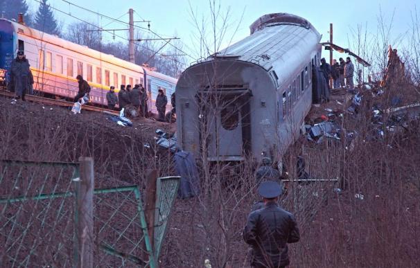 Las autoridades rusas buscan a los culpables del ataque contra el tren