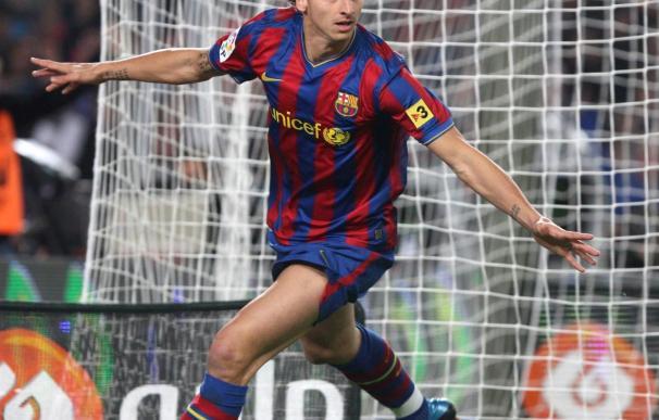 1-0. Un golazo de Ibra devuelve el liderato al Barça en el clásico ante el Madrid