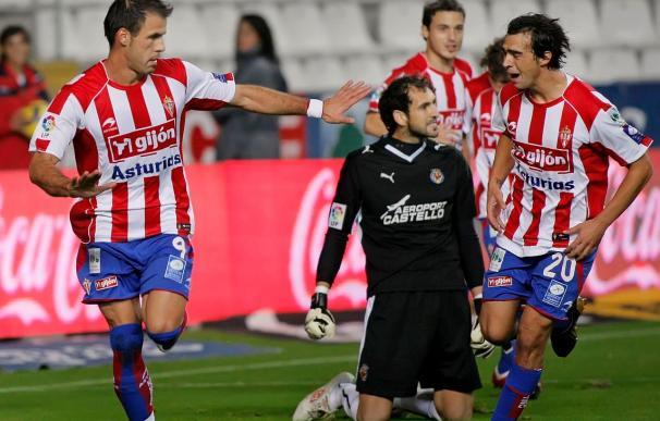 1-0. El Sporting sigue invicto en casa y rompe la racha del Villarreal