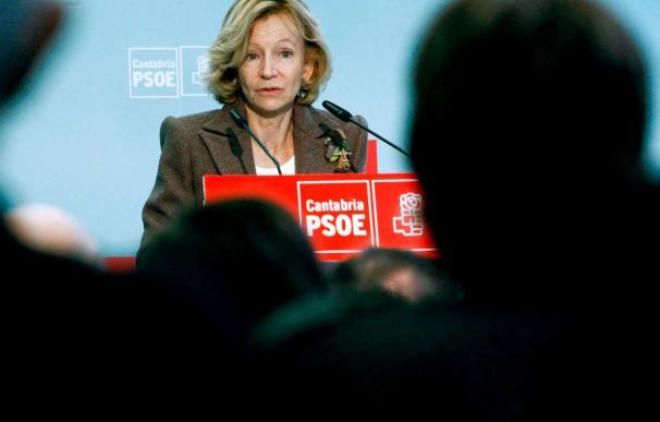 Salgado dice que la ley no es franquista y pide al PP que se sume al diálogo