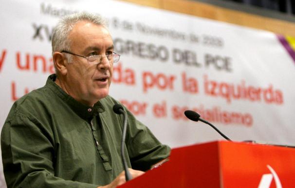 """IU escenificará hoy en Madrid el inicio de su proceso de """"refundación"""""""