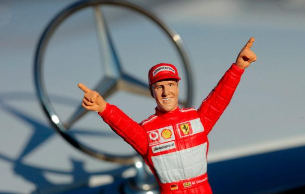 """Schumacher, entre la """"K"""" de """"Kaiser"""" y la de """"Kannibale"""""""