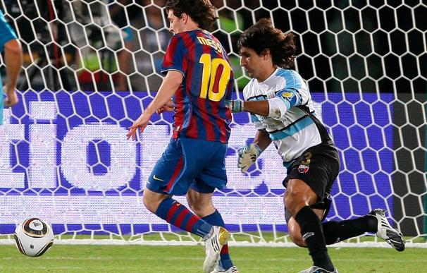3-1. El Barcelona jugará la final del Mundial de clubes contra Estudiantes, tras ganar al Atlante