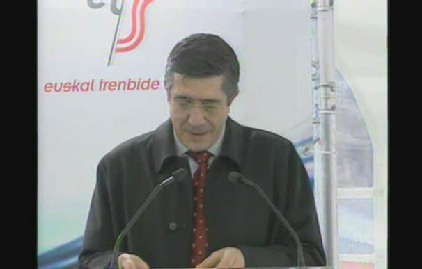 """López dice que la inversión en el TAV es """"una medida contra la crisis"""""""