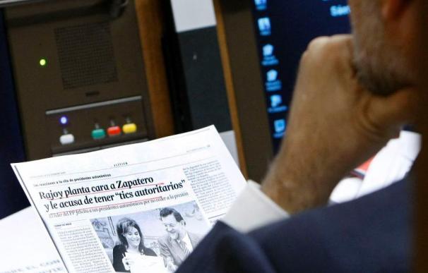 Rajoy dice que Zapatero será en la UE como el maestro que no sabe leer y pone una escuela