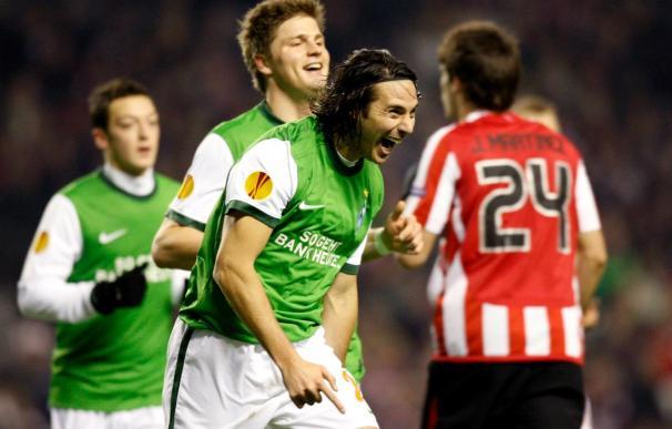 0-3. El Werder Bremen da un repaso al joven y diezmado Athletic