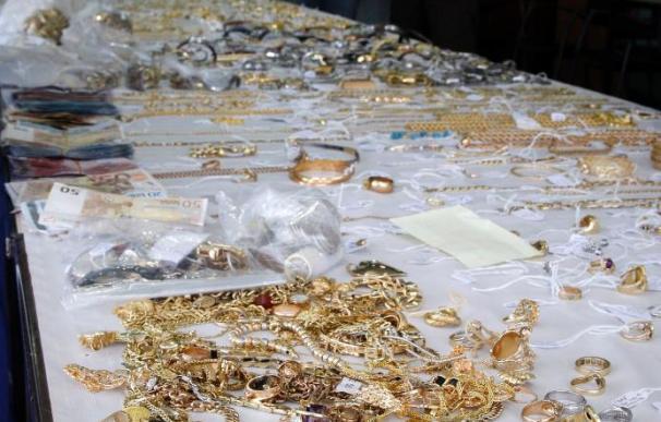 La Policía recupera joyas valoradas en más de medio millón de euros