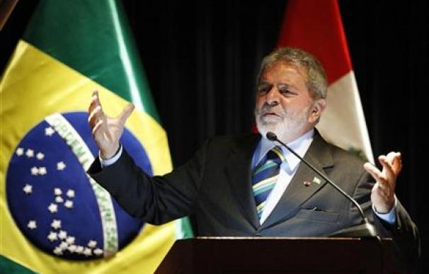 El presidente de Brasil, Luiz Inácio Lula da Silva