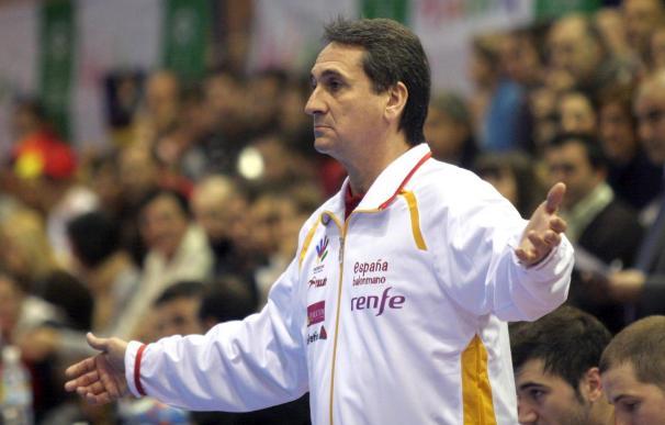 El seleccionador de balonmano masculino da la lista para el Europeo de Austria