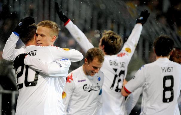 Hertha, Roma, Fulham, Panathinaikos, Brujas y Copenhague sellan su pase