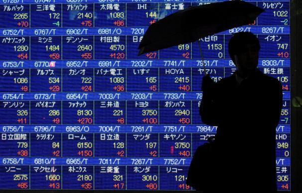 El índice Nikkei sube 1,16 por ciento, 116,92 puntos, hasta 10.200,40 puntos