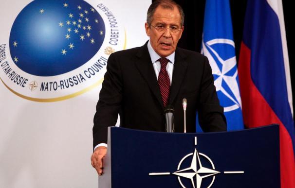 Lavrov y Rasmussen reconocen disensiones pero piden no dramatizarlas