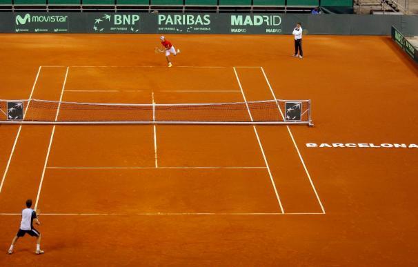 """Nadal niega estar bajo de ánimo y sí """"feliz"""" por disputar una nueva final"""