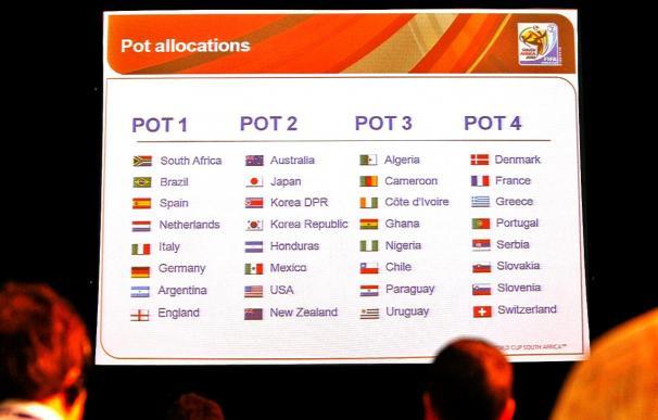 La FIFA anuncia que Holanda será mañana cabeza de serie en lugar de Francia