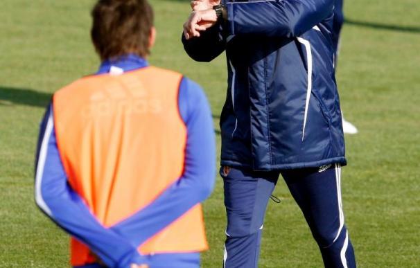José Aurelio Gay dirige su primer entrenamiento en el Zaragoza