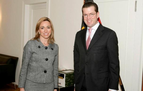 Chacón explica en Berlín las prioridades de la presidencia española de la UE
