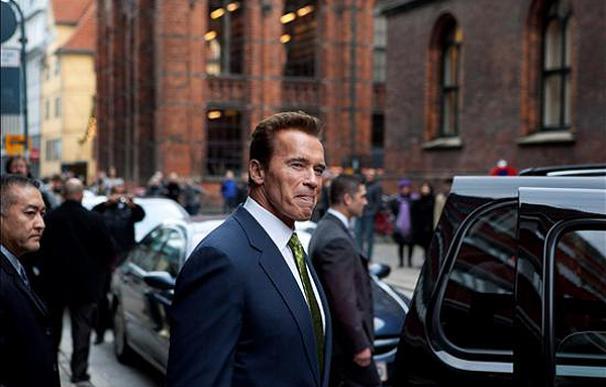 Arnold Schwarzenegger, en Copenhague | EFE