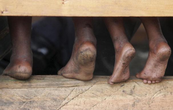 Unas 84.000 personas huyen de R.D. del Congo al vecino Congo-Brazzaville