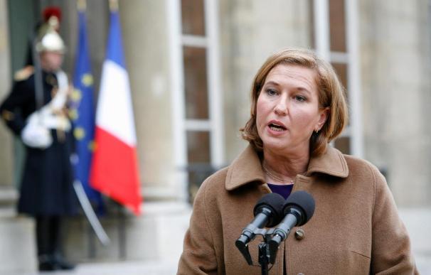 Un tribunal de Londres emitió una orden de detención contra Livni