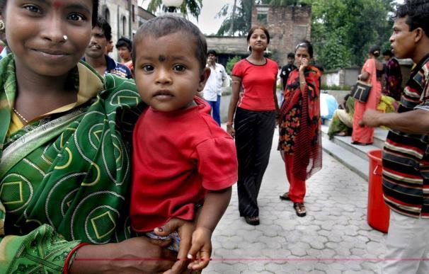 Seis niños rescatados y 15 personas detenidas por tráfico de recién nacidos