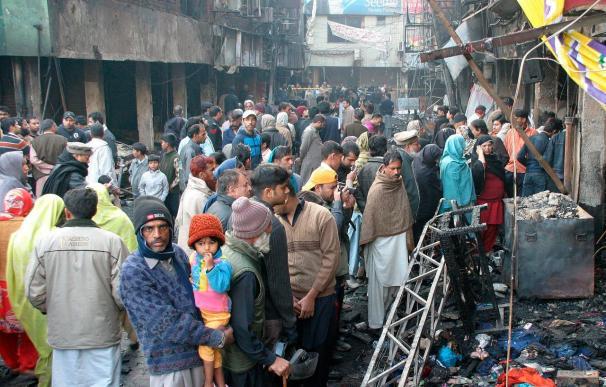 Una decena de muertos y 30 heridos en una explosión en el este de Pakistán
