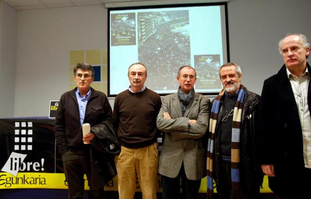 Representantes de formaciones nacionalistas respaldarán en Madrid a los imputados en el caso Egunkaria