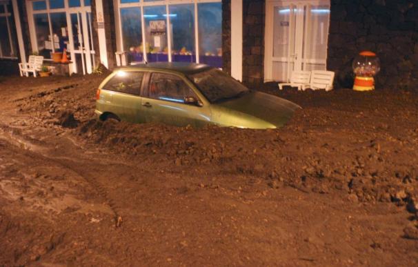 Vecinos de La Palma fueron evacuados por riesgo de desbordamiento de barrancos