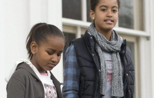 Las hijas del presidente Obama le regalarán artículos deportivos en Navidad