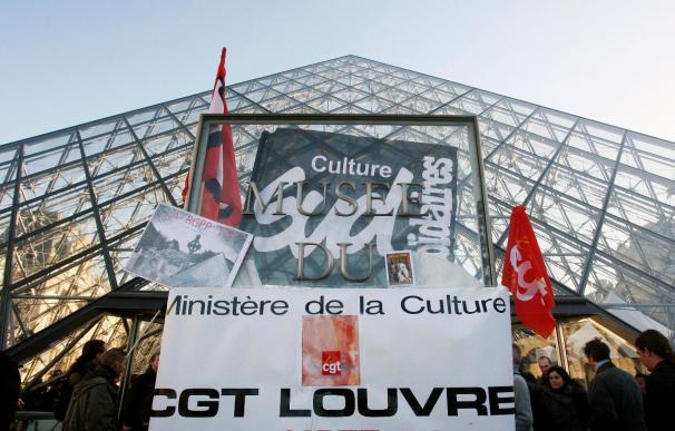 La huelga de los museos pierde fuerza con la apertura del Louvre y varios monumentos nacionales abiertos