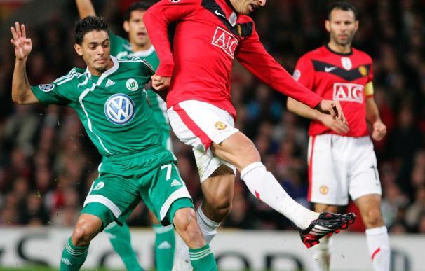 El Wolfsburgo se juega su pase ante un United minado por las bajas