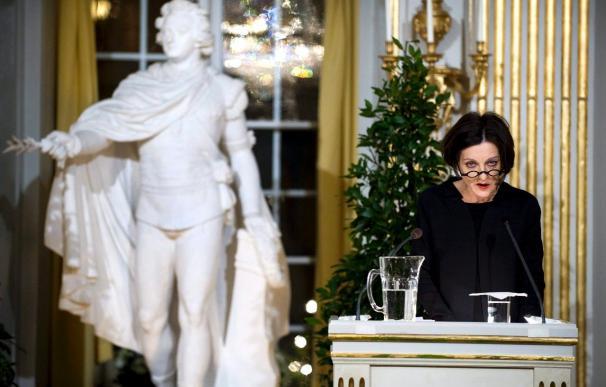 Müller recorre las heridas del siglo XX en su discurso por el premio Nobel